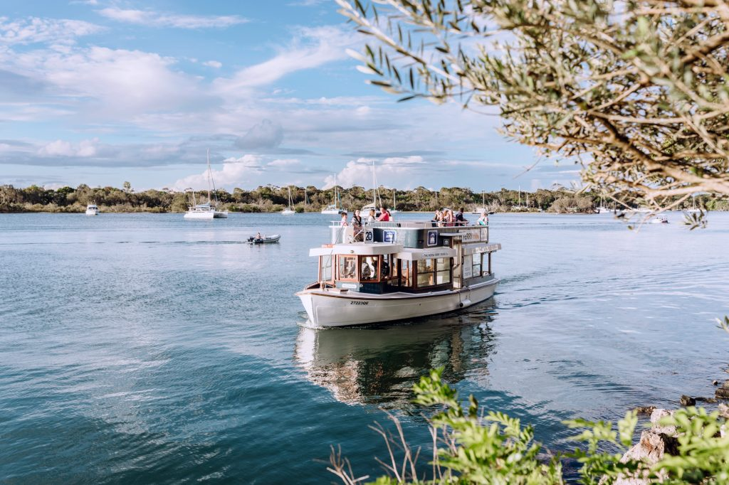 Cruise boat on the Noosa River