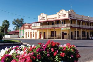 Hotel in outback town